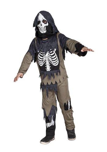 Kinderkostuum Zombie skeleton