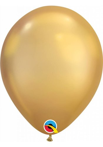 Heliumballon Gold Chrome (28cm)