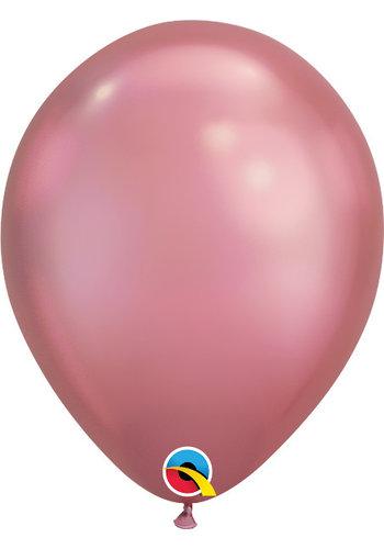 Heliumballon Mauve Chrome (28cm)