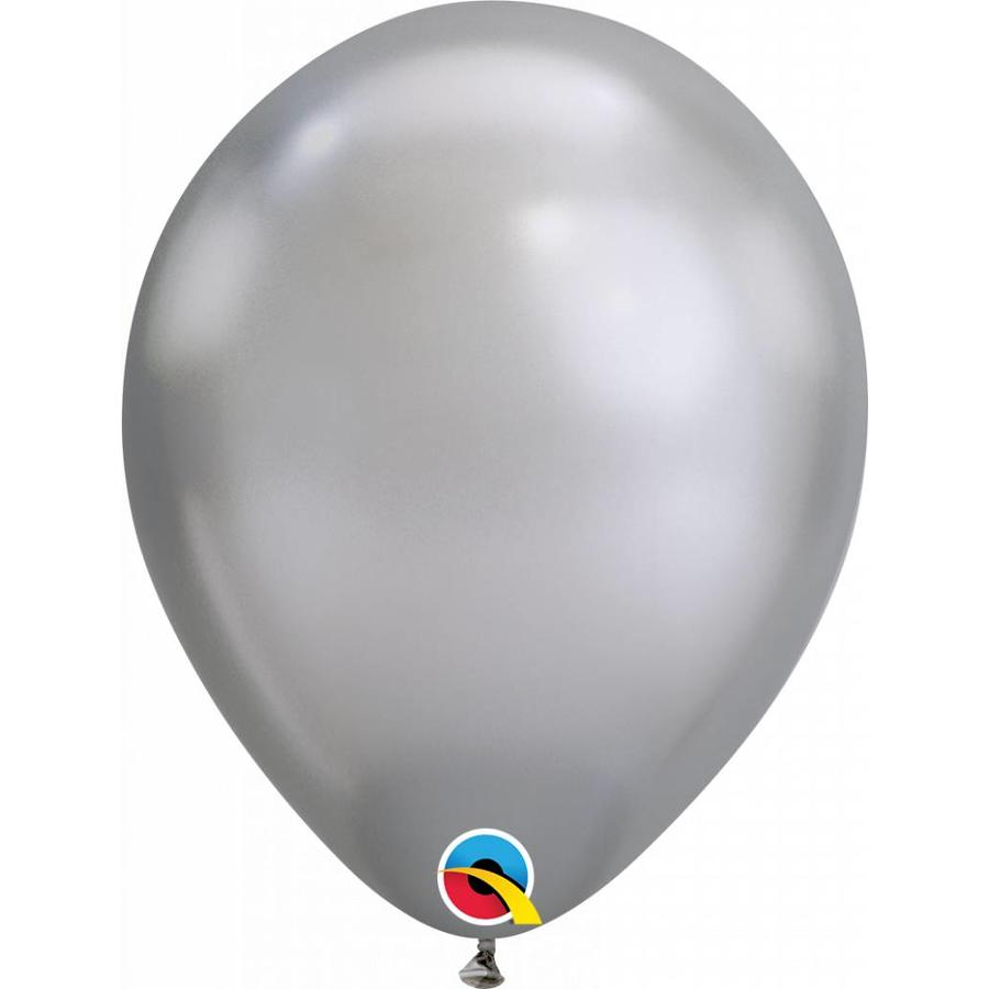 "11"" Silver Chrome (28cm)-1"