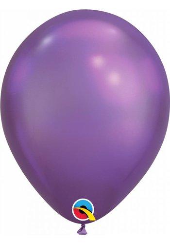 Heliumballon Purple Chrome (28cm)
