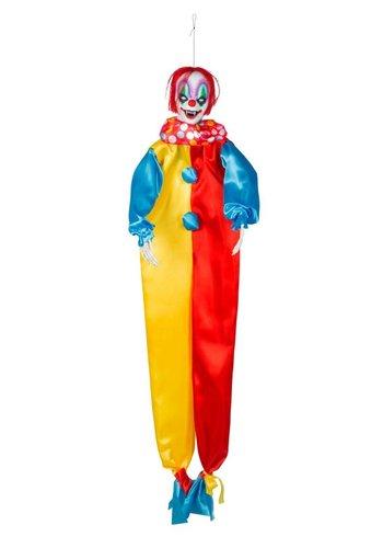 Decoratie Horror clown - 120 cm