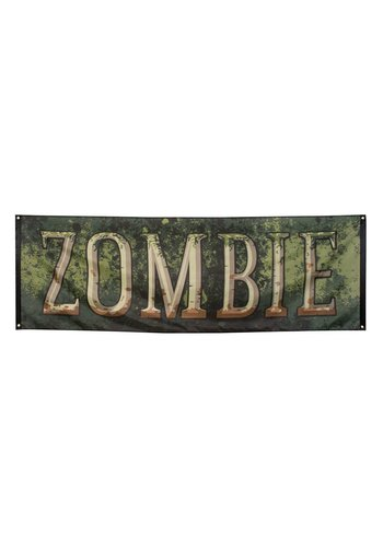 Spandoek Zombie - 220 x 74 cm