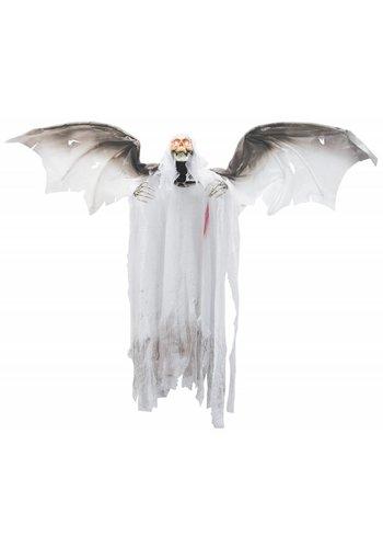 Decoratie pop - Bloody Flying Reaper - 120x100cm