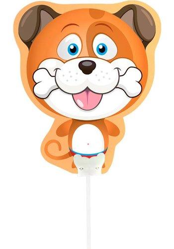 Mini luchtgevuld Folieballonnen - Hondje