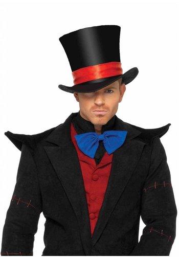 Men's Velvet Top Hat - Black