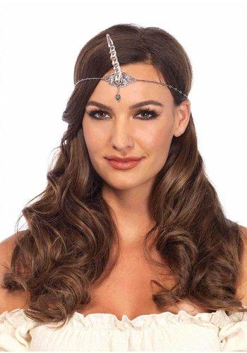 Unicorn Horn Headband - Silver