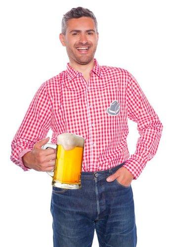 Oktoberfest shirt - Rood