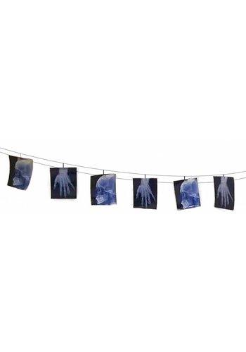 X-ray bunch-death garland - 160 x 16 cm