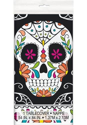 Tablecover - Skull day of the dead - 140 x 215 cm