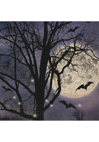Napkins - Spooky Night - 16 stuks - 33 x 33 cm