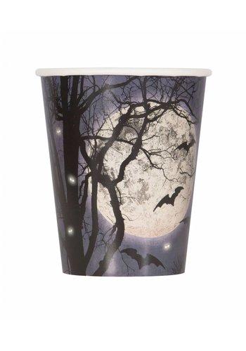 Cups - Spooky Night - 8 stuks - 25cl.