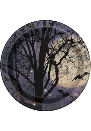Plates - Spooky Night - 8 stuks - 23cm