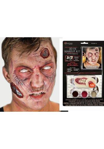 Zombie complete 3d-fx makeup kit