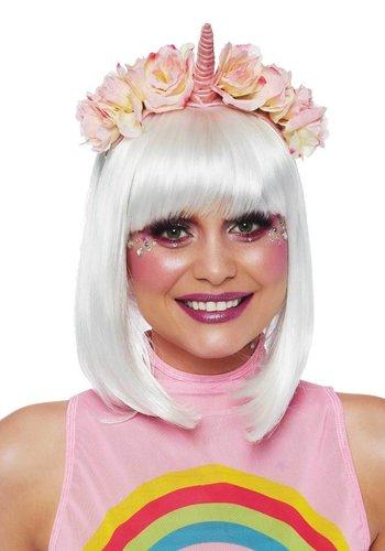 Pastel velvet unicorn headband