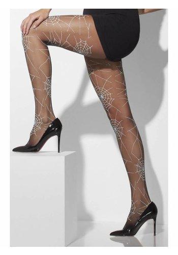 Panty Spiderweb Print