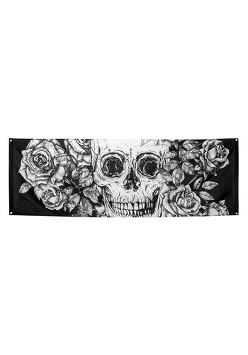 Polyester banner Day of the dead - 74 x 220 cm
