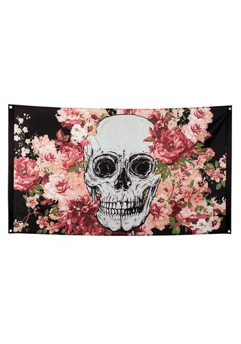 Polyester vlag Day of the dead - 90 x 150 cm