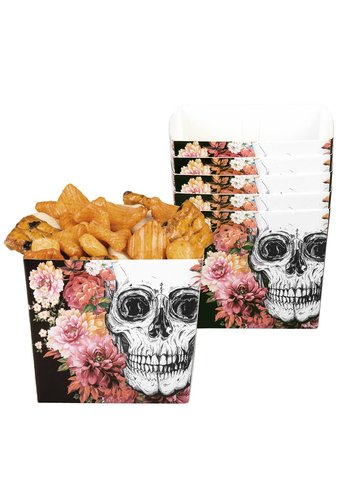 Set 6 Bakjes Day of the dead - 40 cl