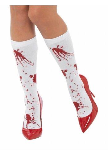 Blood Splatter Socks