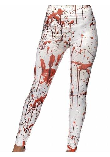 Horror Leggings met Bloed Spetters
