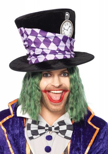 Oversized Mad Hatter Top Hat