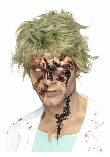 Zombie Scab Blood - Zwart - Droogt Realistisch - 25 gr