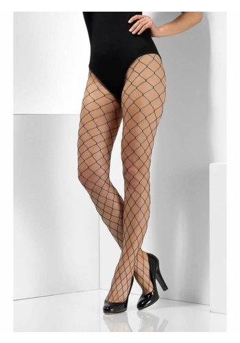 Diamond Net Panty - Teal