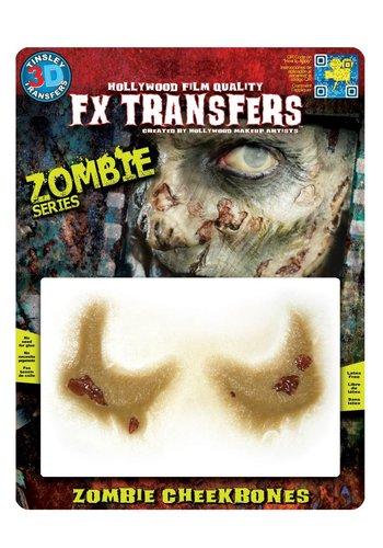 Zombie FX Transfers - Zombie Cheekbones