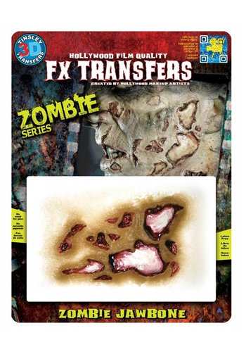 Zombie FX Transfers - Zombie Jaw Bone