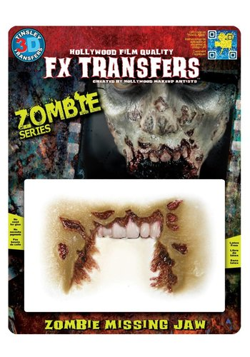 Zombie FX Transfers - Zombie Missing Jaw