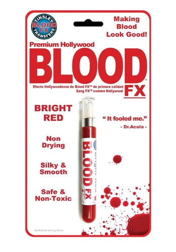 BLOOD FX - Blood - Bright Red Hydrophobic