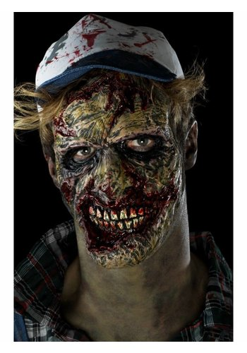 Foam Latex Zombie Face Prosthetic