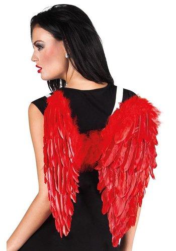 Duivelvleugels Rood - 50x50cm