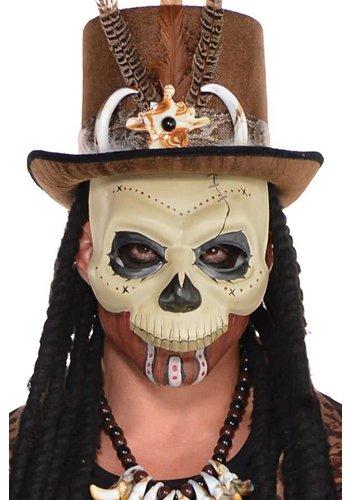 Masker voodoo skelet