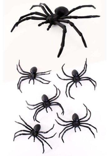 5 spinnen - 10 cm