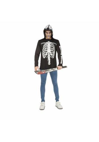 Skeleton Jacket met Capuchon