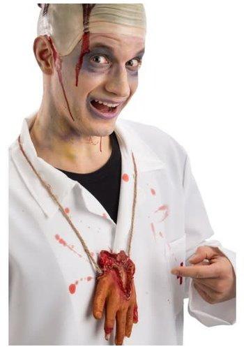 Ketting - Latex bloederige hand