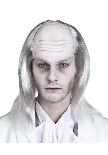 Pruik zombie White