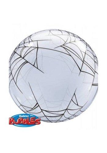 Bubble Ballon Spider's Web - 61 cm