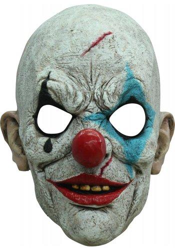 Head mask clown tears
