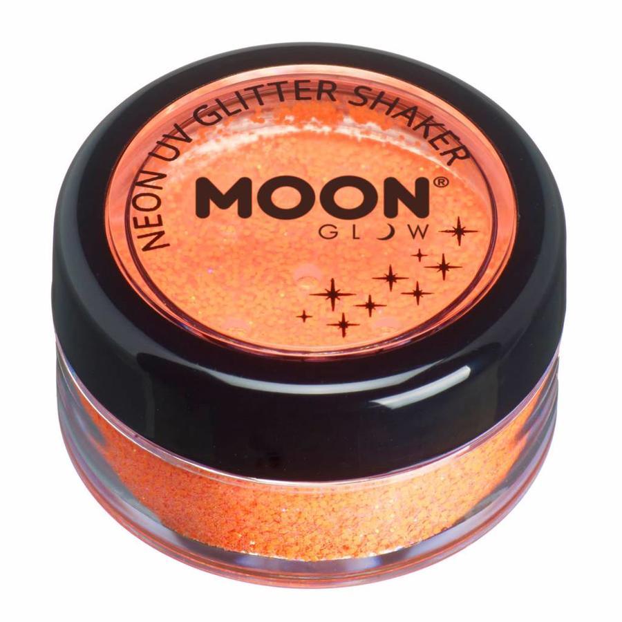 Glitter Shaker Neon - Orange-1