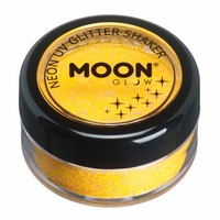 Glitter Shaker Neon - Golden Yellow