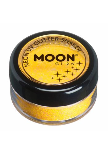 Glitter Shaker Neon - Golden Yellow