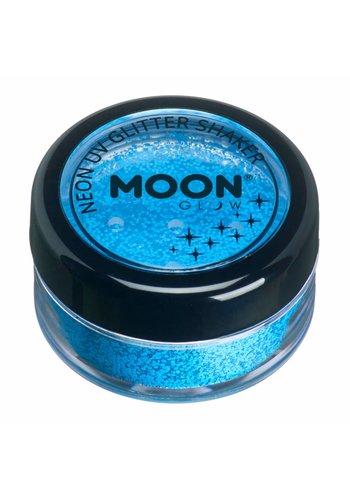Glitter Shaker Neon - Blue