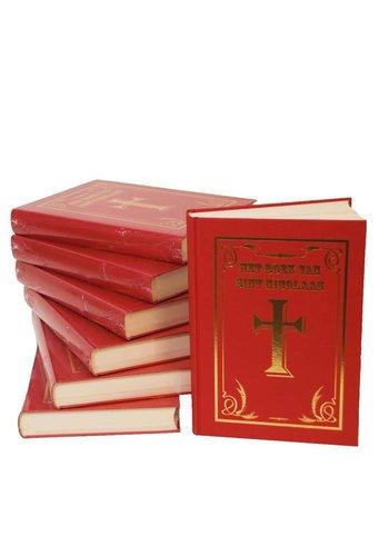 Sinterklaasboek met kruis - 350 pagina's