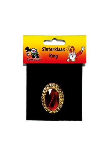 Sinterklaas Ring - Ovaal - verstelbaar
