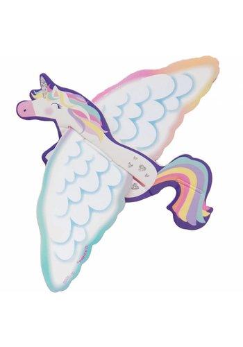 Unicorn bouwkit - 8 stuks