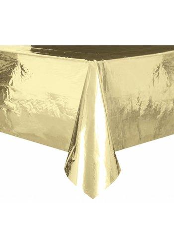 Goud folie Tafelkleed - 137x274cm