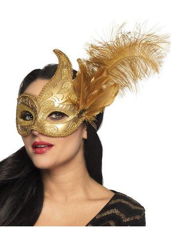 Oogmasker Venice prezioso goud